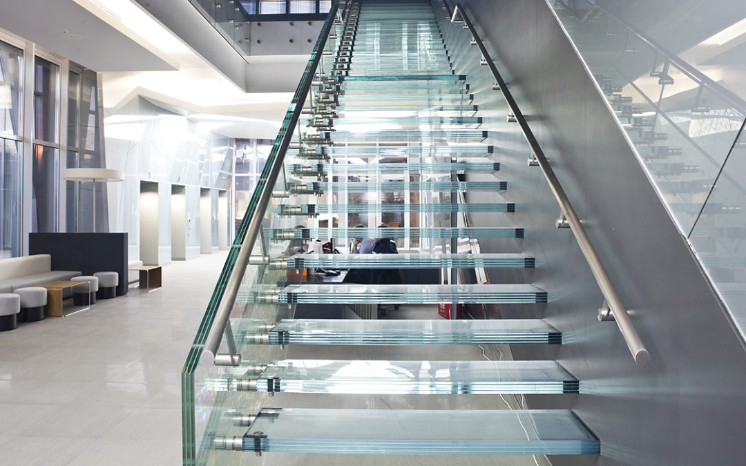 Glass Stairs and Steps