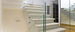 Printed Glass Balustrades Point Fixing