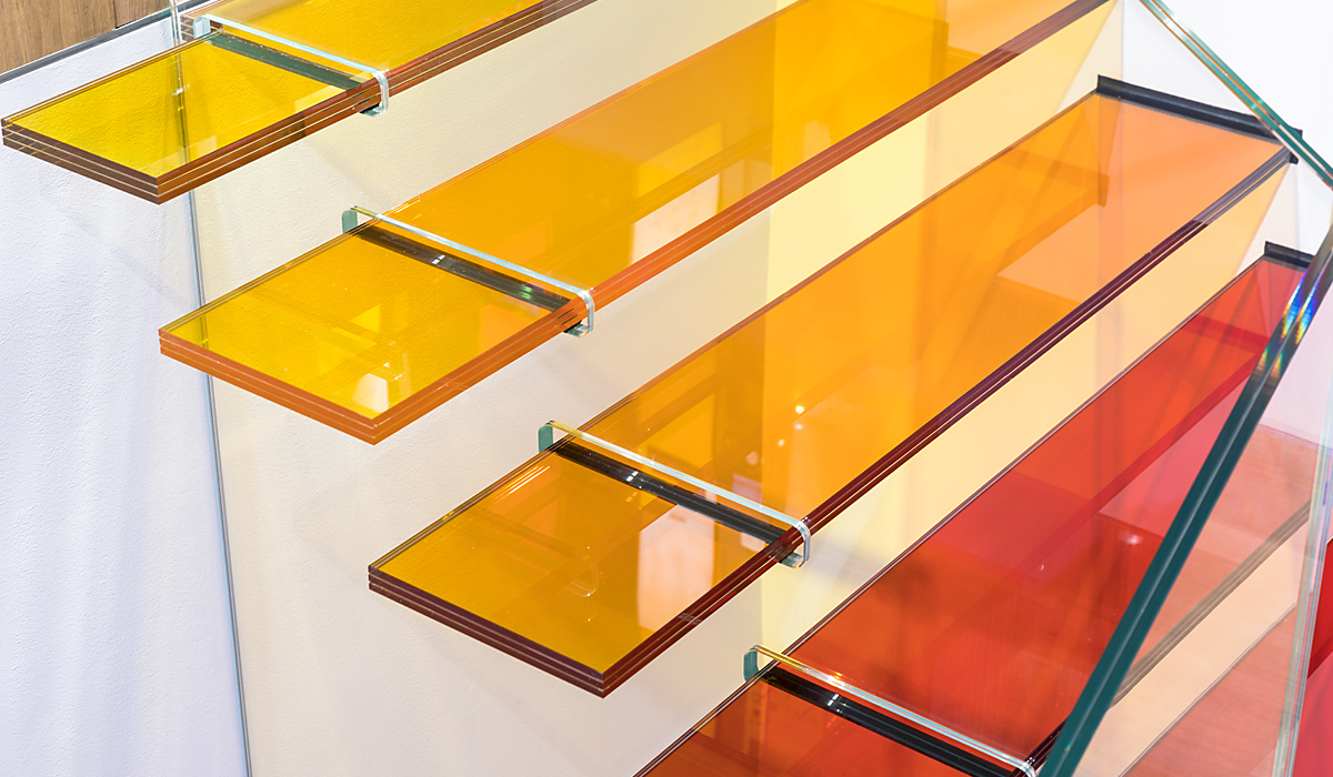 EVOLAM K - Laminated Glass with Coloured Interlayer