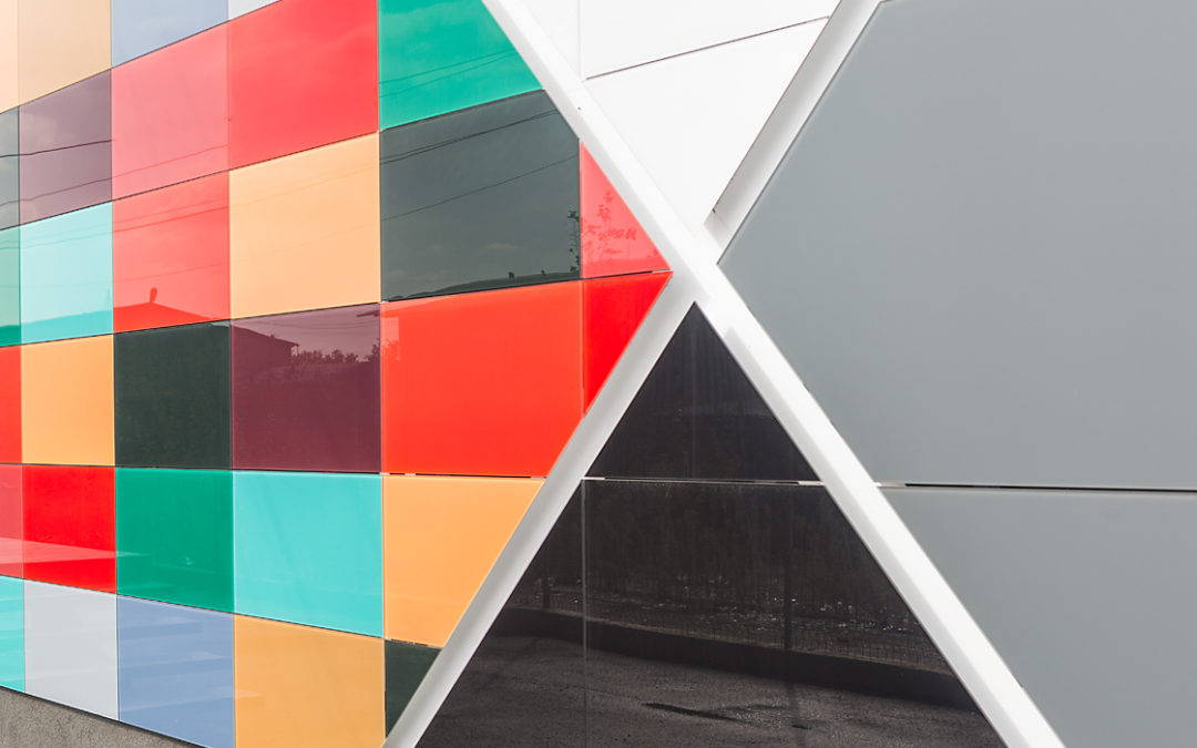 Ventilated Glass Facade
