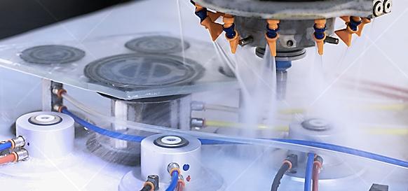 CNC Glass Processing