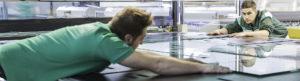 Screenprinting Glass Production Main