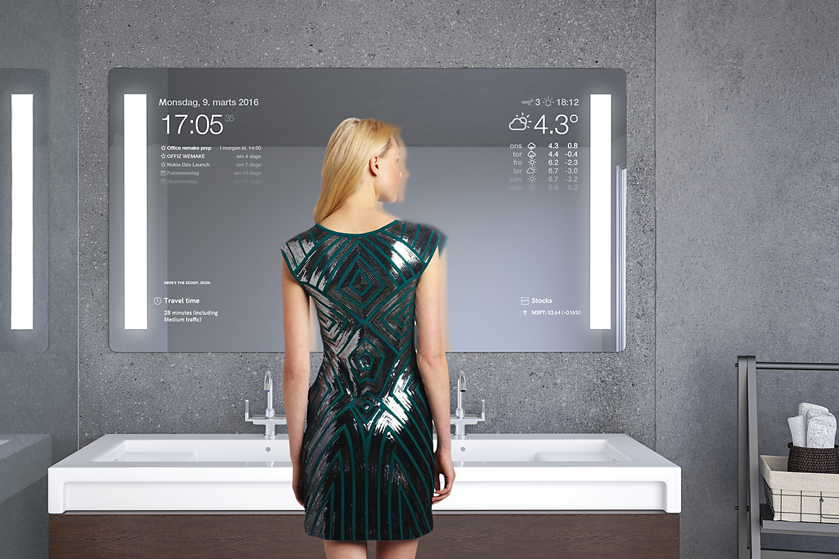 Smart Mirror Display Glas Expert
