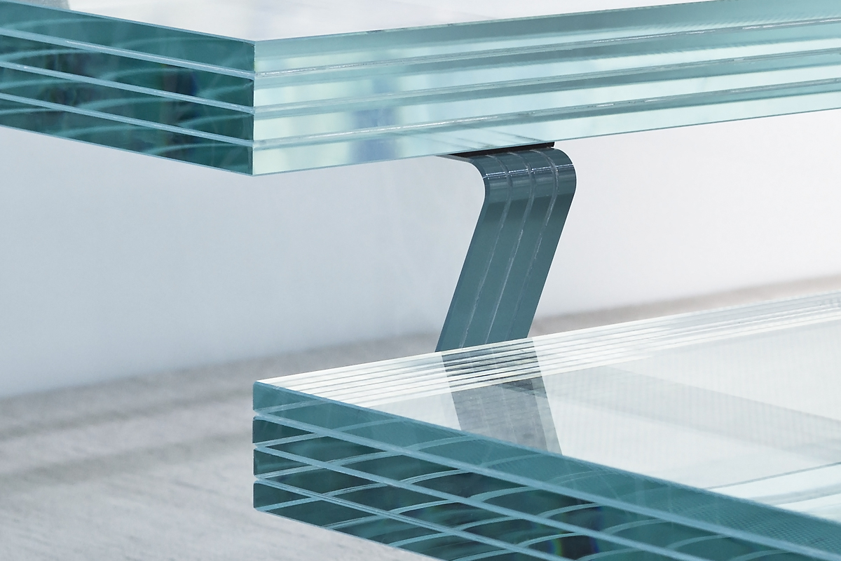 EVOLAM Laminated Glass Stairs