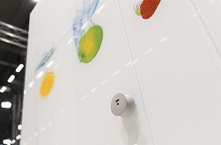 Toilet Glass Cubicles – Ceramic Printed Glass