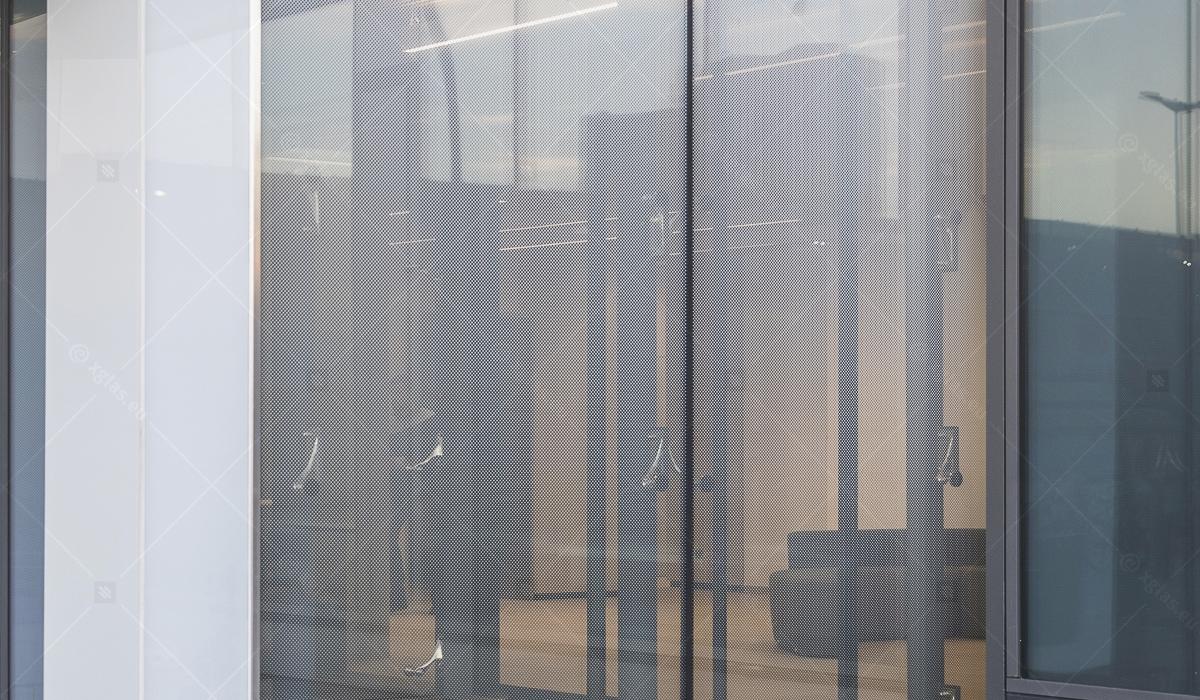 Sticlă printată ceramic EVOPRINT control factor solar inchidere intrare 01