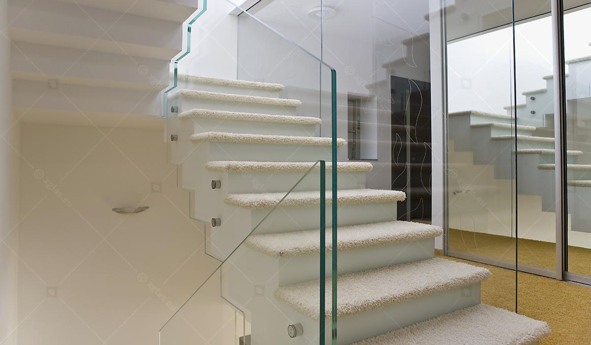 Casa H - EVOLAM T Sticlă Laminată Balustradă
