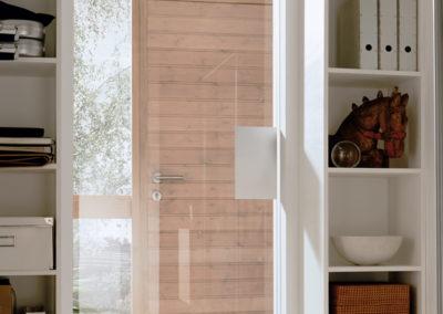 Ușă din sticlă cu feronerie Dorma Visur DRM 01