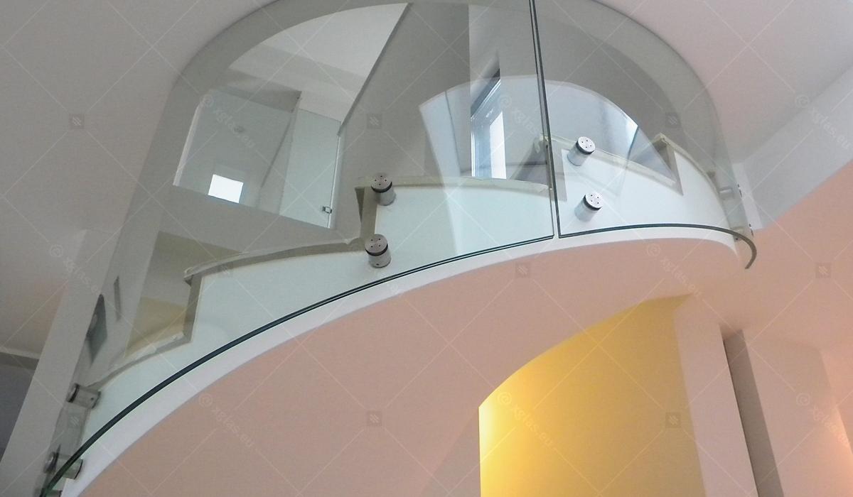 Balustrada Curbă EVOLAM CONTOUR Casa G 02