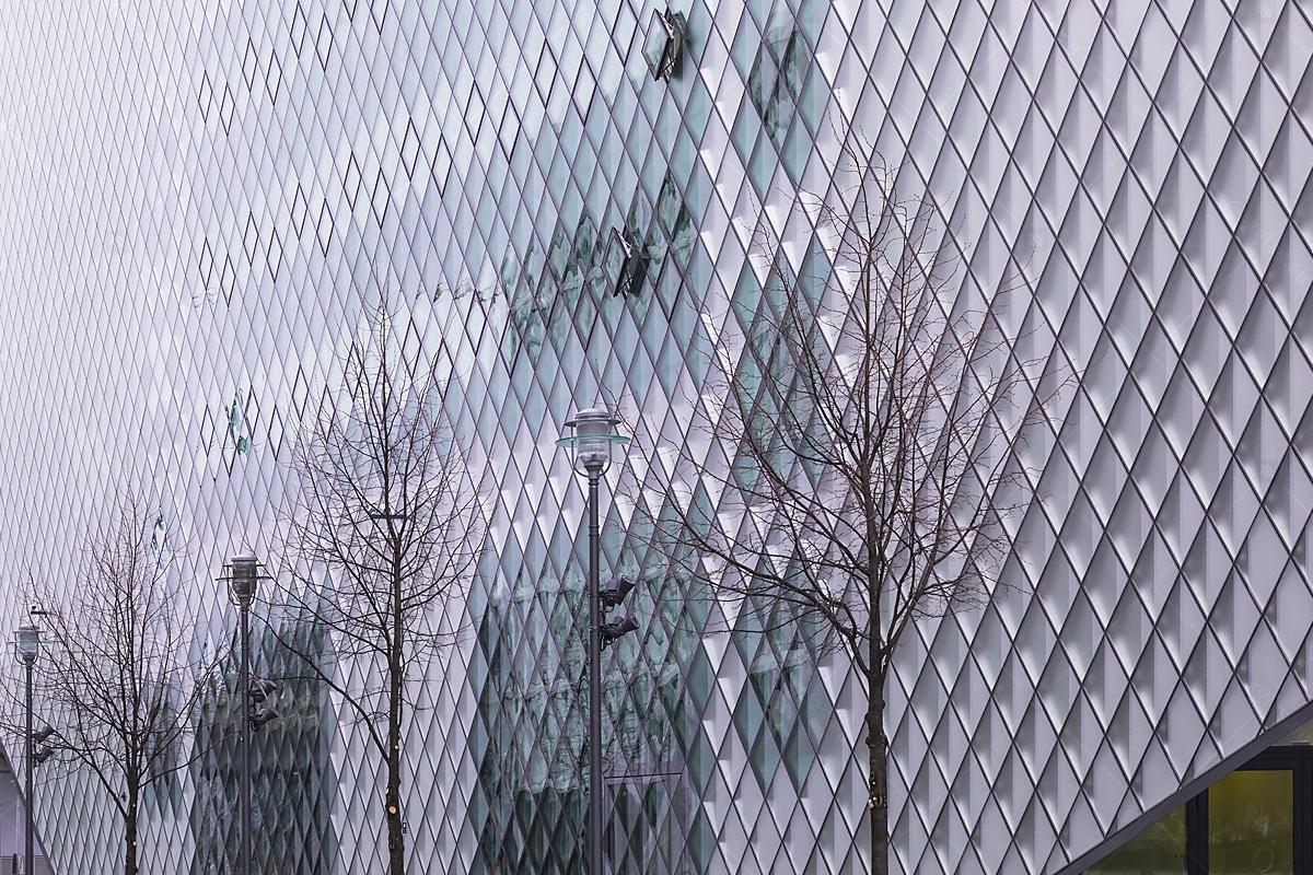 Futurium Berlin Sticlă Serigrafiată Ceramic Zona Laterală Landscape